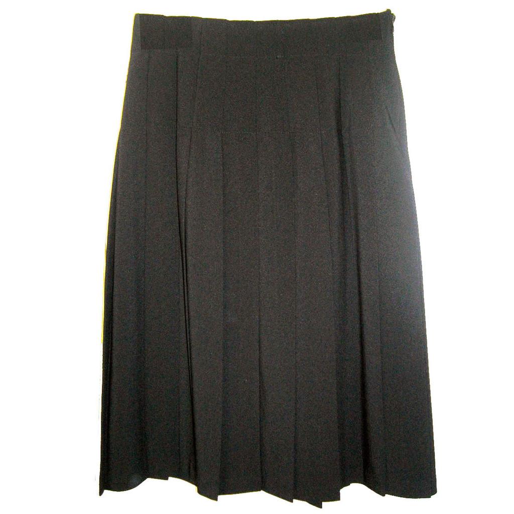 Girls School Uniform Junior Hip-Stitched Pleated Skirt