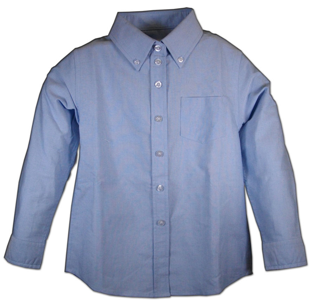 Oxford Girl's School Blouse Color Blue