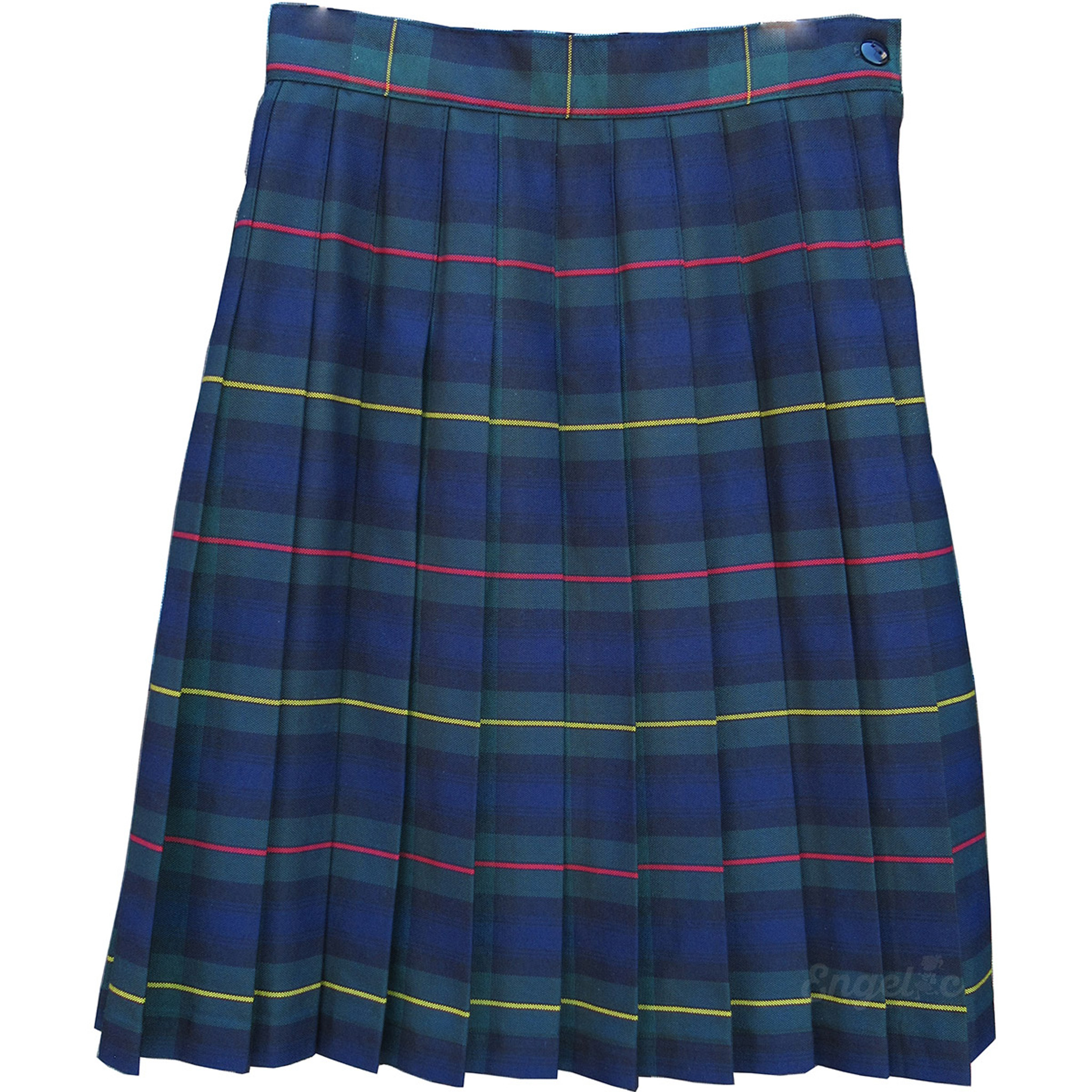 cac50d637f Girls School Uniform Pleated Skirt Plaid #83 - Engelic Uniforms
