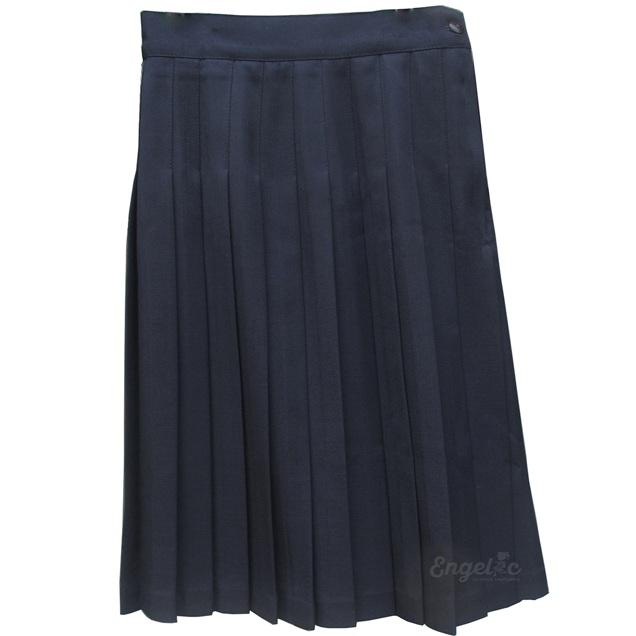 1fe9b0723 Girls School Uniform Pleated Skirt Navy - Engelic Uniforms