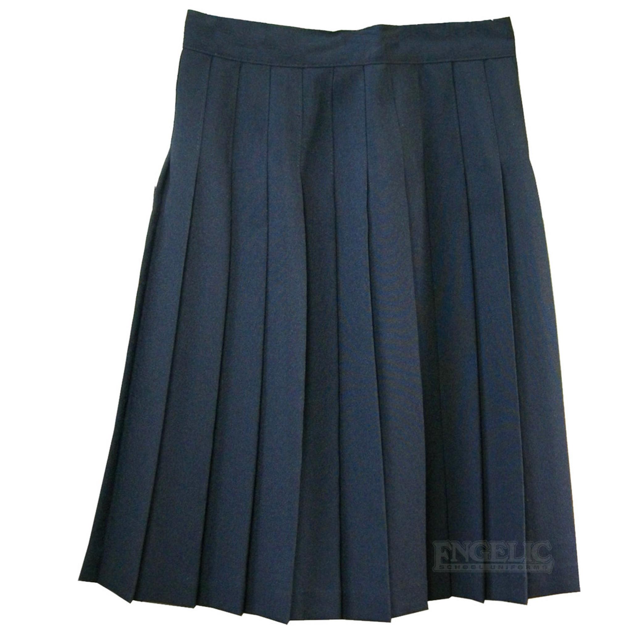 Girls School Skirt Black