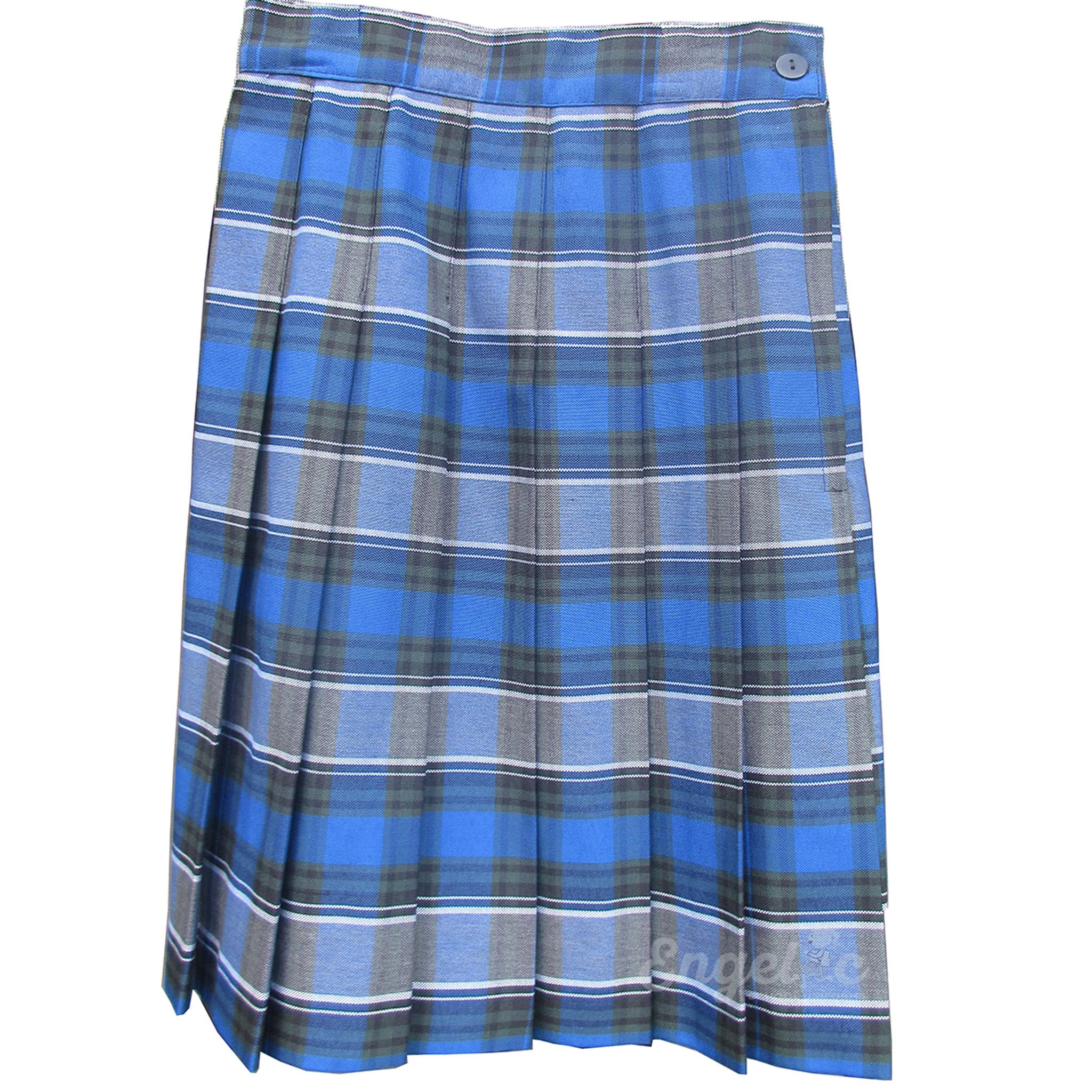 21310791e Green Plaid Uniform Skirt   Huston Fislar Photography