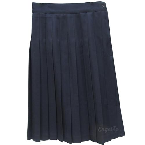 "Girls School Uniform Pleated Skirt English Style (1.5"" Pleats)"