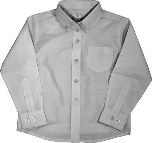 Girls White Oxford School Blouse Long Sleeve