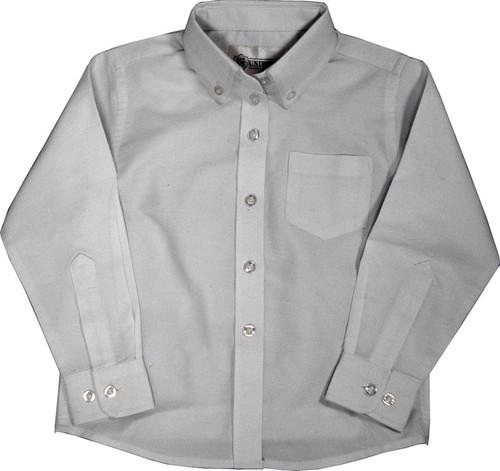 Girls White Oxford School Blouse Long Sleeve