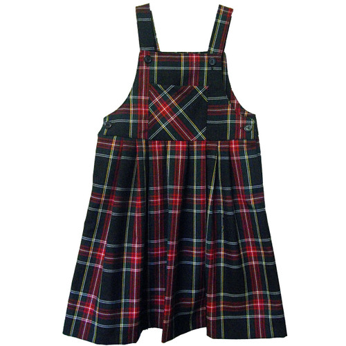 Jumper Two Strap with Pocket | Plaid T | Color #63