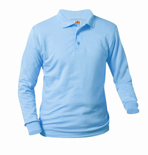 Knit Shirt Color Light Blue