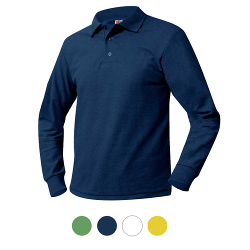 Polo Shirt Green or Navy or Yellow or White