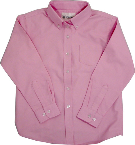 Oxford Girl's School Blouse Color Pink