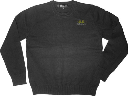 SWEATER CREW-NECK PULLOVER LONG SLEEVES W/EMB ATERES BNOS ITA LOGO 100% COTTON