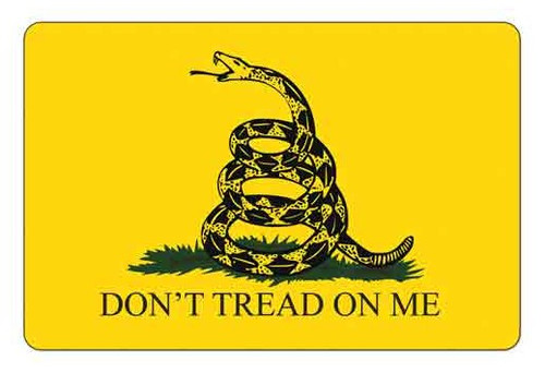 """TEKMAT Armorers Bench Mat Gadsden Flag   TekMat is the creator of original printed cleaning and maintenance mat. Our 17"""" TekMats are large enough to handle a fully disassembled handgun with room to spare for tools and accessories. The 1/8"""" padding on these mats not only provides a premium feel and high level of quality but it offers extra protection from any rough handling or drops while working on your firearm. The ultra soft, oil and water-resistant surface helps protect your firearm from scratches while the diagrams and illustrations help with cleaning, disassembly and are just plain fun to look at. PROTECT YOUR GUN AND YOUR WORK AREA - The soft thermoplastic fiber surface ensures your gun doesn't get scratched while the extra thick, 1/8"""" neoprene rubber will protect your work surface and prevent the mat from sliding. This mat will also keep harmful chemicals, oil and dirt from penetrating down to your desk, bench or work area where you normally clean and work on your firearm. OVERSIZED DESIGN - This gun cleaning mat measures 11"""" x 17"""" and is 1/8"""" thick. The oversized design gives you plenty of room to disassemble your handgun and to clean it without having to move parts all over. The thick 1/8"""" neoprene rubber backing ensures the cleaning mat will protect your firearm and work surface. QUALITY GUN CLEANING MAT - This gun cleaning mat by TekMat is made to exacting standards. This begins with the water-resistant, scratch proof, fade and oil resistant dye-sublimation printing. This heat transferred printing impregnates the ink into the fibers for a lifetime of durability. TekMat does not silkscreen their designs like a lot of other inferior gun cleaning mat manufacturers. EASY TO USE - This gun cleaning mat features full color graphics and rolls up for easy storage along with your other cleaning supplies and accessories."""
