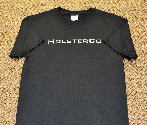High Quality HolsterCo Tee in Black
