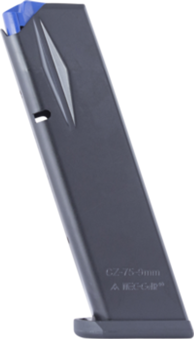 FEATURES: Caliber 9 mm Capacity 17 High Cap Flush Fit Increased capacity to 17-rounds while remaining flush-fit Redesigned tube to improve functionality, heat-treated for strength Anti-Friction Coating allows for easy loading and superior anti-corrosion properties Interlinked internal components