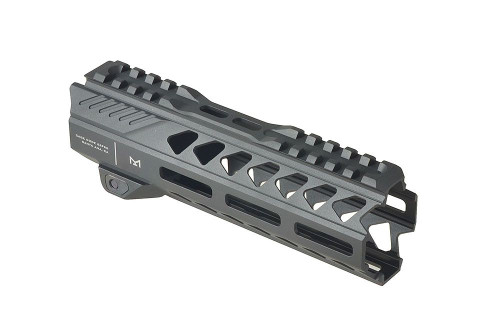 "The SI Strike Rail for the AR-15 was developed to fulfill the requirements of certain agency partners, who wanted a lightweight, but feature packed rail that they could depend on when entering harm's way. In service of this mission, we bring to you, the new SI Strike Rail.  Lightweight, high strength, everything you need, and nothing you don't.  Recommended: 2 oz lighter with optional SI Strike Rail Lightweight 7250 Barrel Nut  Not Compatible: Most gas piston systems. Not compatible with some billet/side charging uppers. Made to fit mil-spec M4 receivers.    Package include - 1x Strike Rail Handguard - 1x Mounting hardware and allen key - 1x Barrel Nut - 1x Barrel Nut Wrench - 1x Shim Kit  Features: - 1.57"" internal Diameter for suppressor or Oppressor compatibility - For AR-15 style rifles only. Not compatible with AR-10 receivers. MLOK compatible - Ambidextrous QD socket placement - Built in anti rotation feature in rail - Reinforced Steel Mounting Nut and Bolt  Recommended: 2 oz lighter with optional SI Strike Rail Lightweight 7250 Barrel Nut"