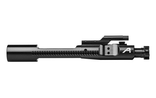 DESCRIPTION This high quality bolt carrier group is a valuable addition to your AR15 build.  Features: M16-cut carrier Machined from 8620 Tool Steel (Carrier) and 9310 Steel (Bolt) Carrier has forward assist serrations Black Nitride Finish - advanced lower friction coating that minimizes the need for lubricants and cleaning Properly staked gas key Shot peened HPT tested/MPI marked Black o-ring insert on extractor High quality BCG SPECS Specs Made In America?Yes Select Your FinishBlack Nitride PlatformAR15 Bolt Material9310 Steel Carrier Material8620 Steel Weight(s)11.52 oz Other Features- CUSTOMER PHOTOS