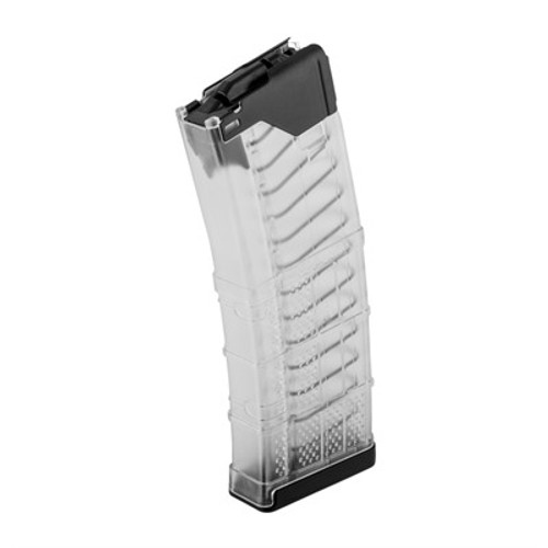 Lancer set out to design a better 5.56 magazine; one with the reliability of steel and the durability and weight of polymer. The L5 Advanced Warfighter Magazine (AWM®) is that magazine.  The L5AWM's exclusive hybrid design includes a hardened steel feed lip assembly molded into a proprietary polymer body with aggressive surface texturing to create the ultimate rifle magazine tough enough for military, law enforcement, and competition applications.  The L5AWM is compatible with modern weapon systems, including M4/M16/AR15, SCAR16, HK416, ARX160, SIG556, ARC, SIG MCX, IWI Tavor, IWI X95, SA80, chambered in 5.56x45mm / .223 Remington. Designed, tooled, manufactured, and assembled in the USA