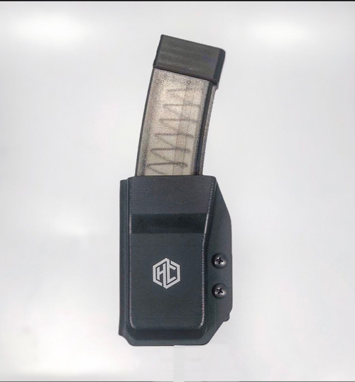 ALL NEW!     CZ SCORPION MAGAZINE POUCHES     Fits OEM and MAGPUL Scorpion magazines.  Adjustable retention Super secure Blade-Tech Tek Lok or G Code RTI attachment options currently only available in black