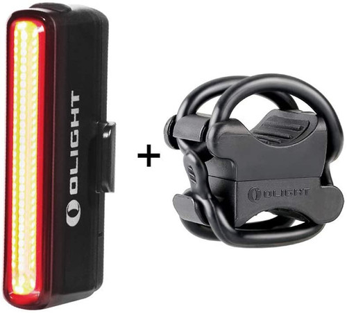 1 of OLIGHT Seemee 30 Bike Lights, 30 Lumens Tail Light 800m Viewable Range, 230 Degree Visibility USB Rechargeable Lights, IPX6 Waterproof Rating, Road and Urban Cyclists(330mAh Polymer Battery Included)  (15) ✅【Design For Your Safety】The 30 lumens maximum output tail light emits an eye-catching and wide-angle beam that can be seen from 800 meters away. SEEMEE 30 TL is designed to make your ride much safer. ✅【Efficient Energy Consuming】With the ambient light sensor, SEEMEE 30 TL will atuomatically adjust the light mode and output depending on ambient conditions. There is also a low battery mode to ensure the durability and energy consuming. ✅【Applications】Whether you are daily commuting or urban riding, whether it's night time or daytime, SEEMEE 30 will be your best reliable companion on the ride. ✅【Convenient USB Charging】The USB rechargeable feature bring you a convenient expenience. Also, the built-in battery indicator will be breathing to remind you that it is charging. ✅【Master Your Way】Sensitive infrared light sensor built in, automatically change the light mode according to environment.  1 of OLIGHT FB-1 Universal Flashlight Bike Mount for Flashlight (Bike Lightining Mount Accessories)  (745) ✅Application: Compatible with bicycle handlebars and flashlights with a diameter range of 10-35 mm, including AA/18650 Flashlights; Compatible with all forward and angle-head flashlights ✅Material: Made from high strength temperature and impact resistant polymer, the FB-1 is the perfect piece of equipment for any night time bike rider. ✅Compact Size: Low profile height 39 mm to stay out of the way during rides . ✅Qiuckly Attach/Release: Install and detach in seconds with the thick silicone gel rings that form to your flashlights ✅Package Included : 1 x Mount 2x Larger Holder Ring 2x Small Holder Ring 1x Head Screwdriver.