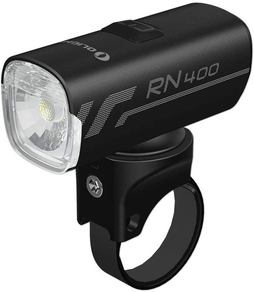 OLIGHT RN 400 Rechargeable Bike Headlights 400 Lumens for Road Urban Cyclists, USB Type C Charging, 1x 900mAh Battery Included, IPX7 Waterproof ✅4 Lighting Modes: It can cope with different scenes, double click to switch modes, single click to switch brightness. ✅IPX7 waterproof rate, capable to withstand water immersion up to 1m depth. ✅USB-C fast charging port saves you more time. ✅Anti-glare lens design increase riding safety. ✅Easy and multiple mounting methods with mount.