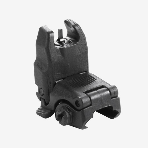 PRODUCT DETAILS The MBUS (Magpul® Back-Up Sight) is a low-cost, color injection-molded, folding back-up sight. The MBUS Front Sight is adjustable for elevation and fits most 1913 Picatinny-railed hand guards, but is specifically tailored to the AR15 / M16 platform.  An elevation adjustment tool is included, but most aftermarket A2 front sight adjustment tools may be used as well.  Made in the USA.