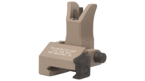 This sight features the familiar Y-shaped protective ears found on the M4/M16 family of rifles, and matches perfectly with Troy's Di-Optic Aperture rear sights. The snag-free design also features a glare killing serrated ramp. This front sight is designed to be mounted on rails that match the height of the upper receiver and will not zero properly when used with shorter or taller railed gas blocks.