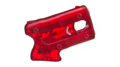 DESCRIPTION   Providing the same revolutionary non-aerosol pyrotechnic delivery system as the original PepperBlaster, the Kimber® Pepperblaster II delivers big stopping power with an ergonomic grip and sights for increased accuracy. Disposable and economical, the Pepperblaster II is more effective than popular sprays, because it is not a spray. A superior ingredient formulation contains 10% OC (2.4% capsaicinoid content) with benzyl alcohol for viscosity, giving you a super effective pepper solution that can disable an attacker for up to 45 minutes. Giving you two charges for a backup second shot, the Pepperblaster II delivers a 13 foot stream at 90 mph, keeping you on target with a lower risk of blowback or drift. Because it is not an aerosol system, the pepper solution in the Pepperblaster II does not lose pressure over time. This constant pressure gives you a personal defense system with a three year shelf life, much longer that comparable aerosol pepper sprays. Weight: 4.2 oz.  Heavy hitting personal defense system Non-aerosol delivery system produces 13' stream at 90 mph Powerful formula disables attacker for up to 45 minutes Two charges - backup shot if needed Does not lose pressure over time like an aerosol pepper spray Pyrotechnic delivery system, ergonomic grip, and sights for increased accuracy Three year shelf life - longer than comparable aerosol pepper sprays Lightweight 4.2 oz.     Important notice  Notice--Pepper Spray. Sale is prohibited to DC, HI, NY, and Los Angeles and may be restricted in CA, MI, NV, SC, WI, FL, NJ and WI. You must be 18 or older in MI, MA, and Dothan, AL. Notice--Check Local Laws and Regulations. Please check your local laws and regulations before ordering and using this product.