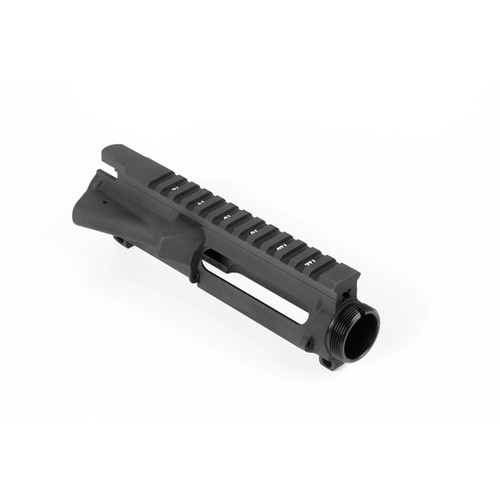 ARSTUP AR15 Stripped Upper Receiver MSRP $84.99 AR15 Stripped Upper Receiver  7075 Forged Aluminum Anodized Black Interior is Dry Film Lubed T-Marked on Top M4 Feed Ramps MADE IN THE USA