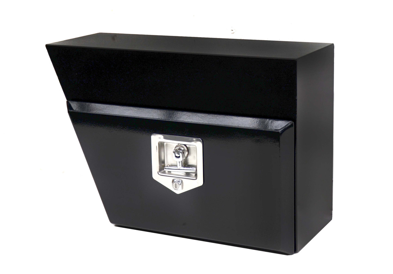 Left And Right Tie Rail Toolbox - Tbtrblk604026L