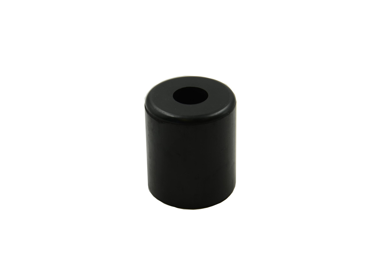 Rubber Buffer Black  75Hx65Odx25MMid