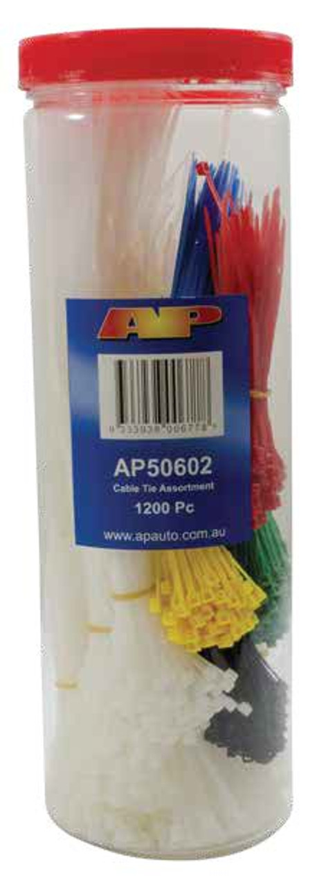 Cable Tie Kit 1200Pc