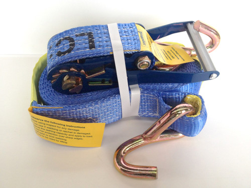 LoadMax Container Strap 50mm x 9m J hook