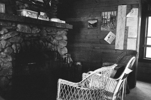 The lucky AT hikers find comfort at the trail keeper's cabin during the season.