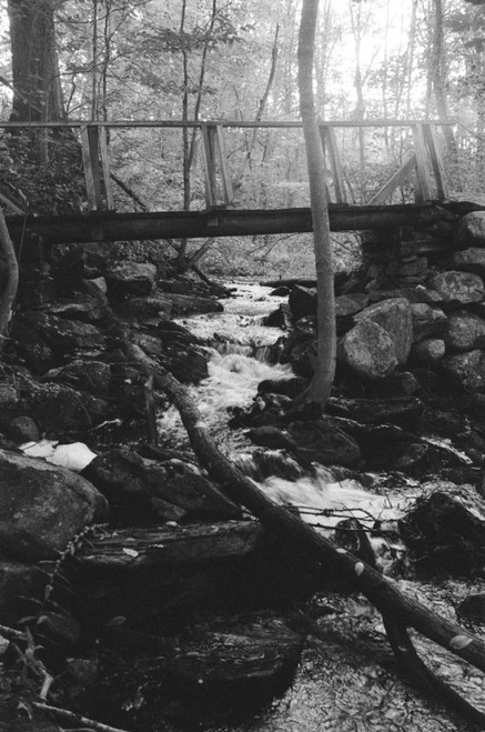 The beauty of a mountain stream on the AT is constant.
