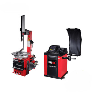Tyre changer & wheel balancer package 1