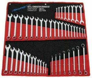 Spanner Set 48 Piece, Satin Finish,
