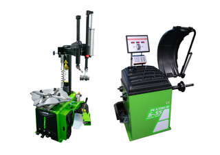 Platinum guarder series G11 & G55 tyre changer and wheel balancer