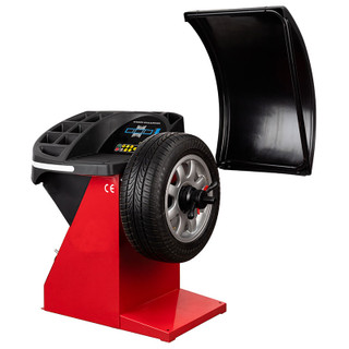 eurotek super spin plus wheel balancing machine