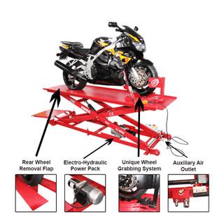 Eurotek BL500 Motorcycle Scissor Lift