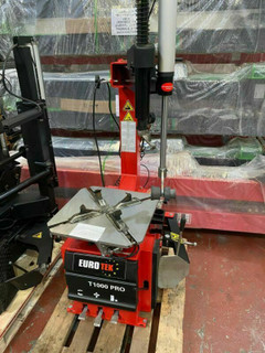 Semi Automatic Tyre Changer, Finance Repossession, Eurotek T1000Pro Tyre Changer