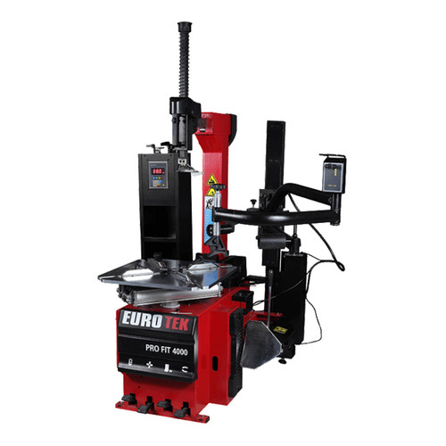 eurotek pro fit 4000 fully automatic tyre changer