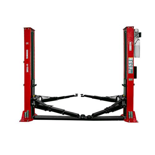 2 post car lift Eurotek UT50E Red
