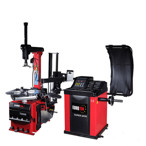 Tyre changer and wheel balancer package 2