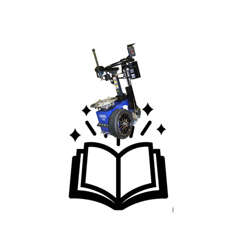 Instruction manual for GEG 185 tyre changer