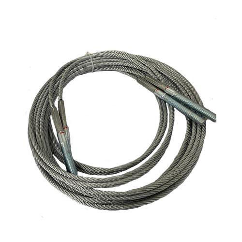 2 Post Lift Balance Cables Rope Set