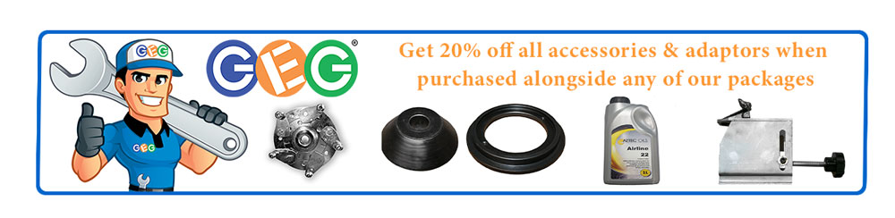 20% off all adaptors and accessories