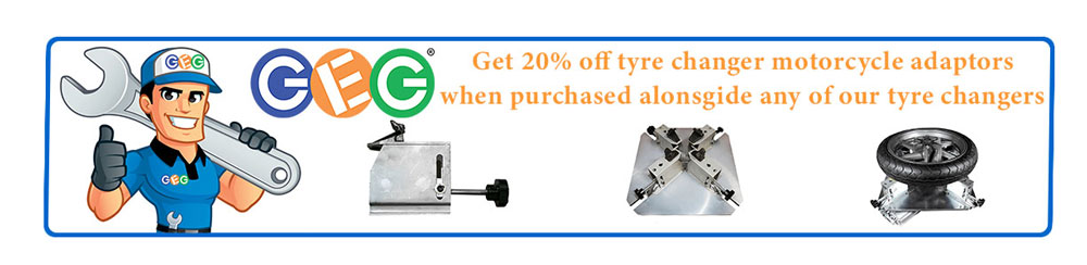 20 %  off accessories for tyre changers