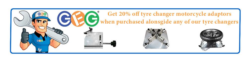 20% off tyre changer adaptors
