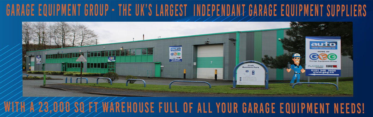 GEG - garage equipment group, your number one supplier of 2 post lifts, 4 post lifts, tyre changers, wheels balancer and much much more