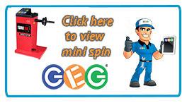 Hyperlink to Eurotek mini spin manual wheel balancer