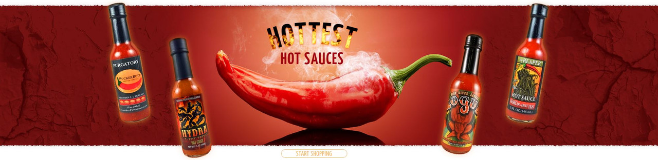 HOTTEST HOT SAUCES AT HOTSAUCE.COM - FREE SHIPPING OVER $69!